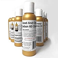 90mg Solvent Free 99.9+% C60 in 100mL of Authentic Extra Virgin Olive Oil Maximum Strength C60 Supplement Vacuum Ovened Solvent Free Carbon 60 0.22um Sterilizing Filtered Third Party Tested - Made in Michigan, USA