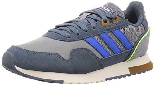 adidas Herren 8k 2020 Laufschuhe, Grau/Glory Blau/Legacy Blau, 43 1/3 EU