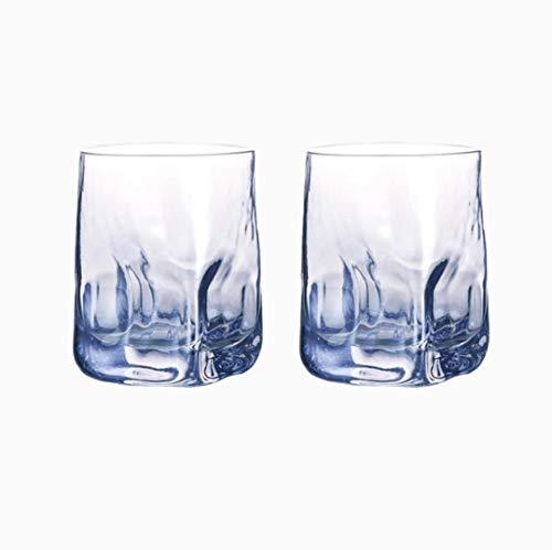Copas De Champán, Tazas, Regalos Vaso De Whisky Martillado Cuadrado Creativo De 2 Piezas, Vaso De Agua, Vaso De Jugo, Vaso De Vino, Vaso Para Beber, Juego De 2