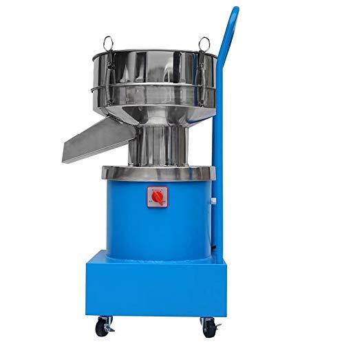 YUCHENGTECH Industrielle Vibrationssiebmaschine Elektrische Partikel-Siebmaschine Automatischer Siebschüttler φ15.74in für Pulverflüssigkeit 750W 220V