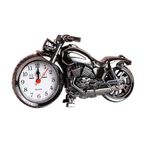 Despertador JXLBB Modelo Creativo de la Motocicleta Reloj Decoración de la Sala Dormitorio Lado de la Cama Ventana de Moda Simple