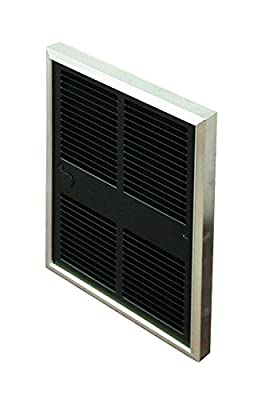 TPI F30522T2DWB Series 3000 Midsized Commercial Fan Forced Wall Heater, Tamperproof In-Built Double Pole Thermostat, 10.8 Amps