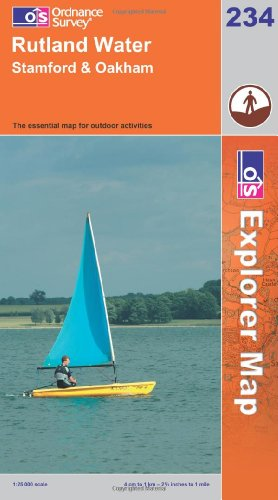 OS Explorer map 234 : Rutland Water