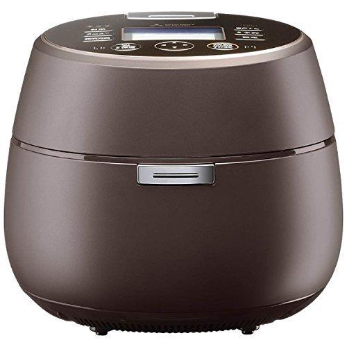 三菱電機 IHジャー炊飯器 本炭釜「KAMADO」 5.5合炊き プレミアムブラウン NJ-AW107-T