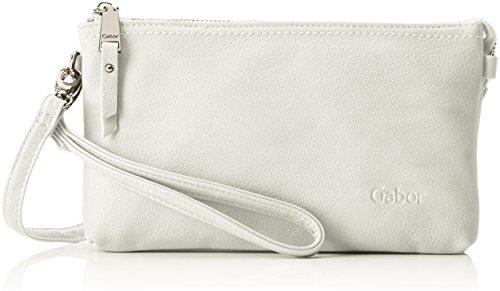 Gabor bags Clutch Abendtasche Damen Emmy, Weiß, one size, Handtasche, Gabor Tasche Damen