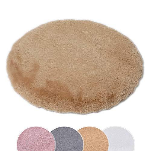 Alfombras Redondas 150 Pelo alfombras redondas  Marca HEQUN