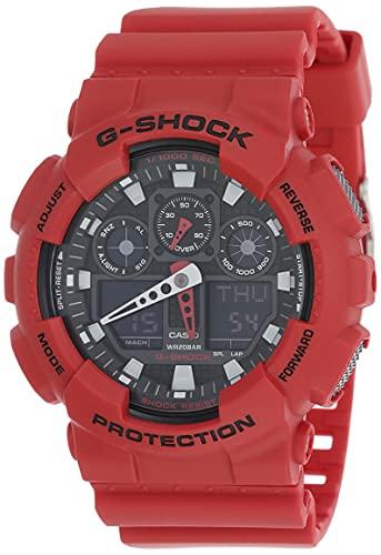 Casio G-Shock Analog-Digital Black Dial Men's Watch-GA-100B-4ADR (G344)