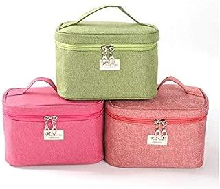 Fashion Cosmetic Box Women Hand Cosmetic Bag Women's Large Capacity Storage Casual Handbag Travel