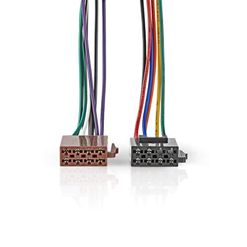 Nedis kabel ISO standaard radio stekker - 2x stekker d