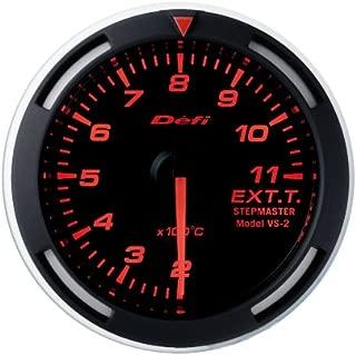 Defi DF06805 Racer Metric EGT Gauge, Red, 52mm