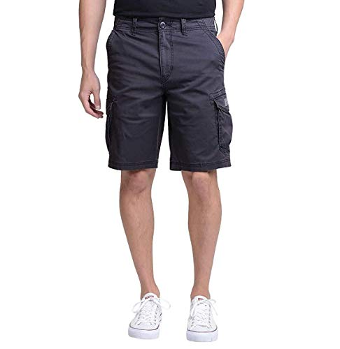 UNIONBAY Montego Cargo Shorts for Men Assorted Colors and Sizes - Comfort Stretch (36, Ruins)