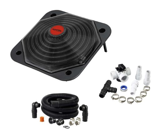 sunCOIL - Solar Heater for Above Ground Pools with Free Diverter Valve Kit ($49.00 Value)