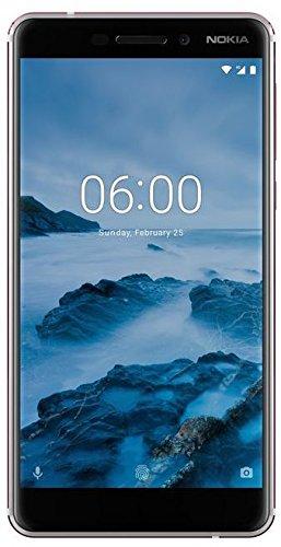 Nokia 6.1 Smartphone (13,97 cm (5,5 Zoll), FHD IPS Bildschirm, 32 GB interner Speicher & 3 GB RAM, Dual-SIM, Android 8.0 (Oreo)) weiß