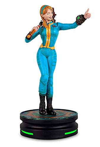 Fallout Vault Girl Modern Icon 9 Statue