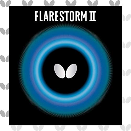 Find Discount Butterfly 1.9 Flarestorm II Rubber, Red