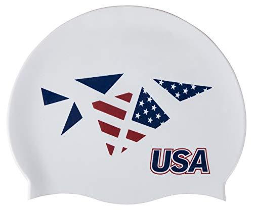 Arena 2020 - Cuffia da nuoto in silicone, Stati Uniti d'America