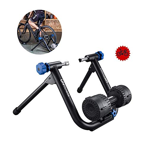 Fluid Bike Trainer Stand, Portle Foldle Bicycle Exercise Stand Road Bike Trainer for Indoor Riding for 26'-29', 700cc Road Bike