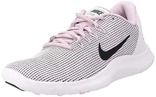 Nike Women's WMNS Flex 2018 Rn Track & Field Shoes, Multicolour (Plum Chalk/Black/Pink Foam/Pale Pink 500), 3.5 UK