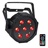 Led Stage Lights-4 pack, 70W RGBW Par Lights with DMX and Remote Control, Sound Activated DJ Par Can Stage Lighting for Indoor Uplighting Wedding Party Dj Lights