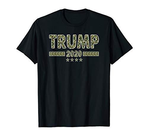 Trump Camo Sharpie Camouflage Military President Gift 2020 T-Shirt