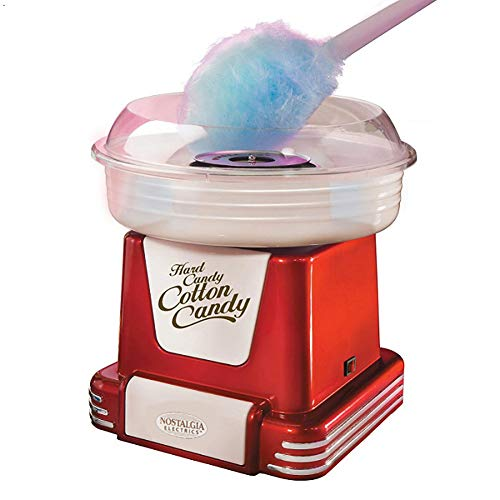TINE Retro Machine Cotton Candy Machine, Machine Barbe A Papa Maker pour Gift Enfants De Jour, De Noël pour Enfants, Anniversaire Et Plus