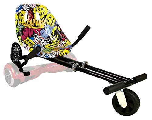 Airel Hoverkart Profesional | No Incluye Hoverboard | Hoverkart Metal | Hoverboard Asiento Kart | Hoverkart Asiento Kart | Medidas: 52x42x21 cm