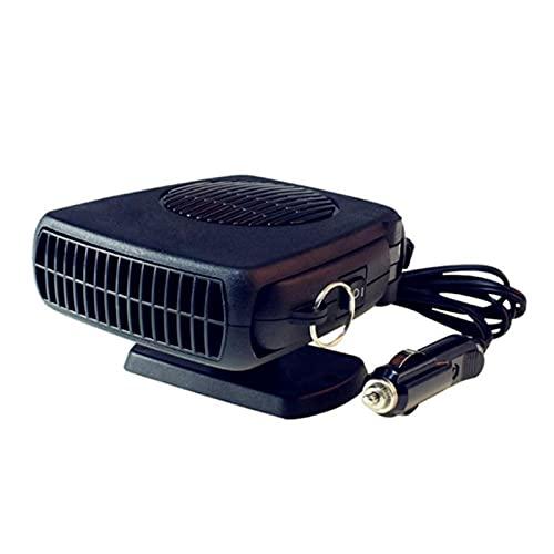 MCYAW Portátil 12V / 200W 2 en 1 Coche Cerámico Calentador Refrigerador Secador Secador Calefacción Defraster Demister Aficion Fan RV Accesorios (Color Name : 12V)