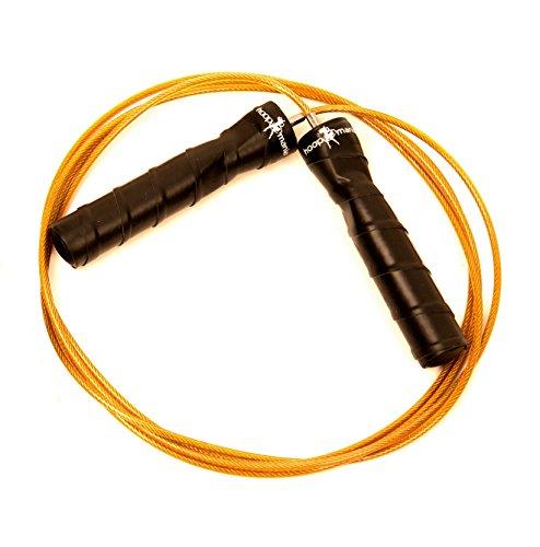 Hoopomania® springtouw, Speed Rope met stalen kabel voor professionele sporters, professionele boxers, crossfit, volwassenen, afhankelijk van het model met kogellagers en verstelbare kabellengtes