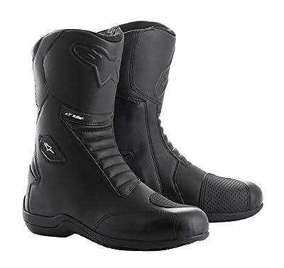 Alpinestars Men's Andes v2 DRYSTAR Motorcycle Boots, Black, 46 by Alpinestars