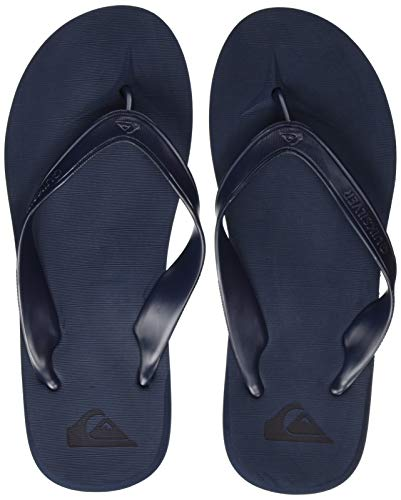 Quiksilver Carver II Deluxe, Zapatos de Playa y Piscina Hombre, Azul (Blue/Blue/Blue Xbbb), 43 EU