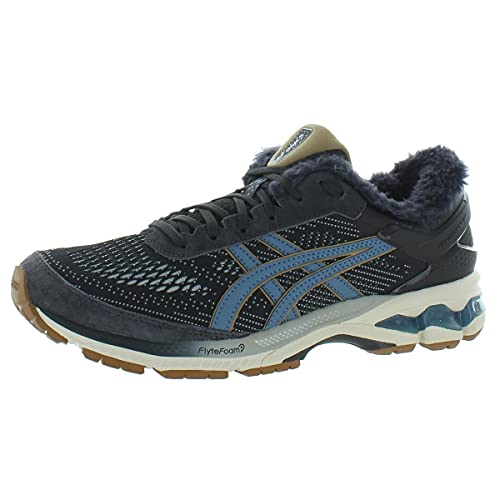 ASICS Men's Gel-Kayano 26 SPS Running Shoes, 13, Graphite Grey/Grey Floss