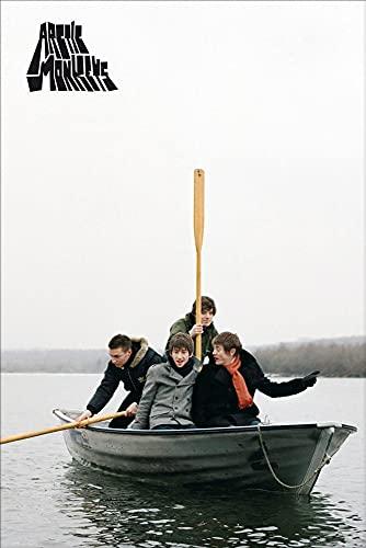1art1 Arctic Monkeys - Favourite Worst Nightmare Poster Stampa (91 x 61cm)