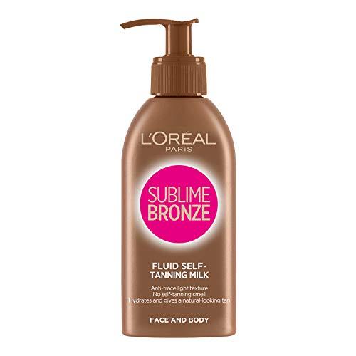 LOréal Paris, Brun-utan-sol-lotion, Sublime Bronze Fresh Selftan Milk, 150 ml