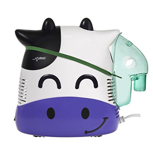 Promedix PR-810 - Nebulizador compresor de aire, Vaquita sonriente para niños