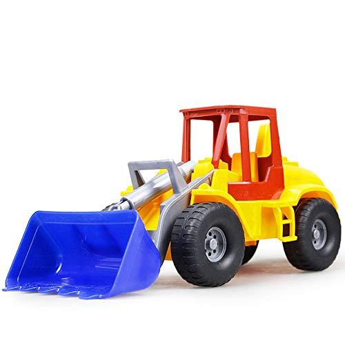Xolye Strand Kind Spielzeug Auto Junge Kind Engineering Fahrzeug Spielzeug Große Sandkipper Gabelstapler Dump Truck Bagger Modell Spielzeug Dekoration Geschenk (Color : Forklift)