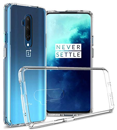 CoverON Hard Slim ClearGuard Series for One Plus 7T Pro 5G McLaren Case/OnePlus 7T Pro Case - Clear