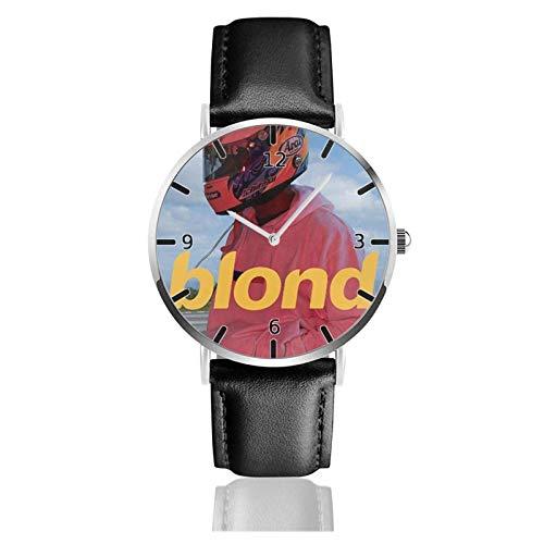 Los niños Miran Reloj Pulsera niño Historieta 3D Impermeable Rubio Franco océano Pantalla Redonda 38mm Batería de botón Poder Unisex Watch