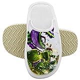 Zapatillas NNGQ P-lants Z-ombies 3D de impresión digital para niños de espuma de memoria suave zapatillas de piel difusa zapatillas de niño deslizador antideslizante para casa de interior y exterior