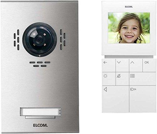 Elcom Videoset 1Tln.Color VSA-1 EM m. BVF-510 Türsprech-Set 4250111814294