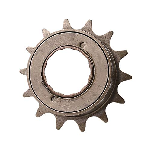 Basage Bicycle Single Speed Flywheel 14T Gear Single Speed Bicycle Freewheel Gear BMX Bicycle 14T Tooth Flywheel Sprocket Gear