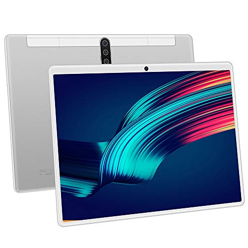 tablet PC con Pantalla táctil HD de 10.1 Pulgadas PC Dual SIM, Doble Modo de Espera, procesador de Cuatro núcleos, Bluetooth, GPS, diseño de Doble cámara