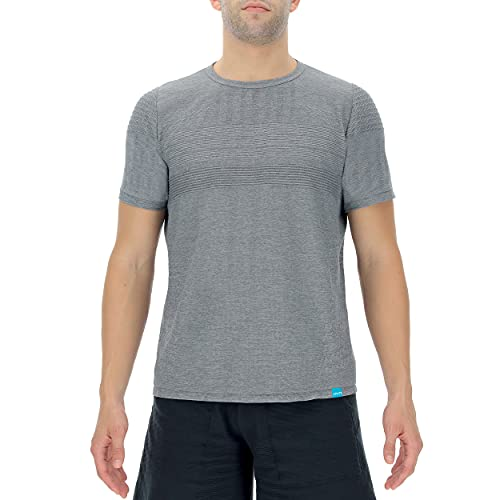 UYN Man Natural Training OW Shirt SH_SL Chaqueta calentadora, Gris, Large para Hombre