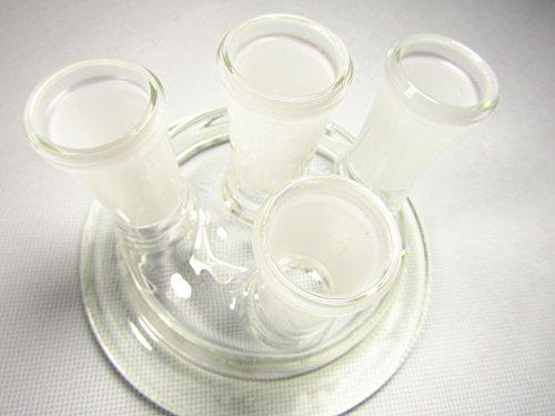 yifun comercio cristal Reactor tapa para 1–2L–dobles DE cristal Reactor de vidrio tapa de matraz de reacción (puede ser personalizado)