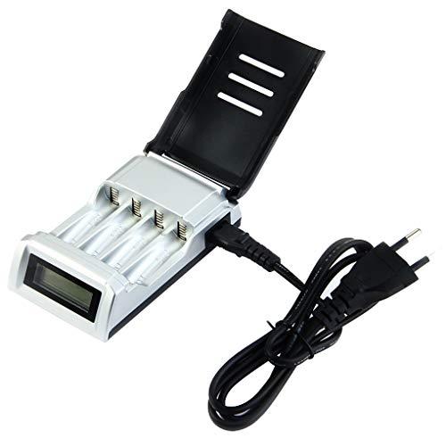 LED-display 4 poorten Batterijen Oplader Speelgoed Elektronica Hoogwaardige universele AAA AA-batterijlader