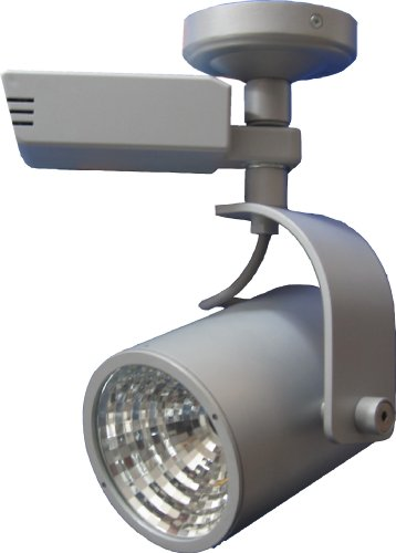 LampX LP17A Strahler für Aufbaumontage EVG 1x70 Watt HCI-T G12 30 Grad silbergrau
