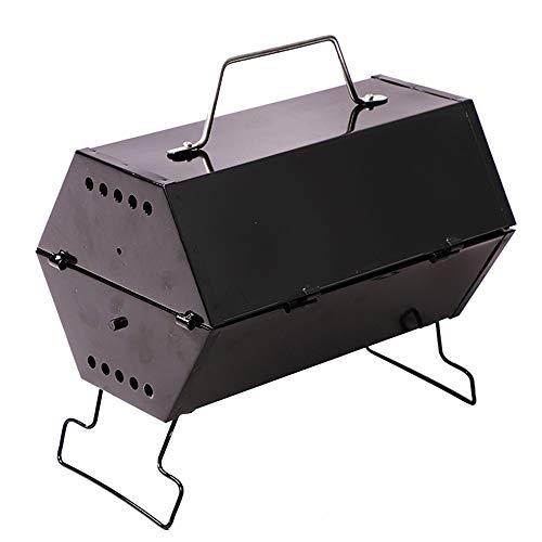 Byx- Outdoor Grill - BBQ Mini Outdoor Wild houtskool 2 Huishoudelijke 3-5 Mensen Complete Carbon Grill Kleine Barbecue Gereedschap Fornuis -grill