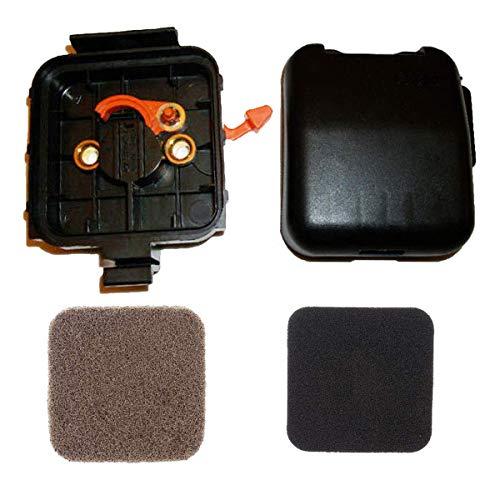 Hippotech Cubierta y Carcasa del Filtro de Aire con filtros de Aire para la desbrozadora de Hilo STIHL HS80 FS80 FS85 BG75