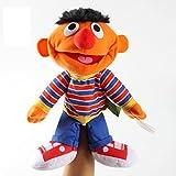 jingru Sesame Street Muppet Dolls 35Cm Ernie Felpa Marioneta De Mano Juguetes Blandos Juguete Interactivo Entre Padres E Hijos Rompecabezas para Niños