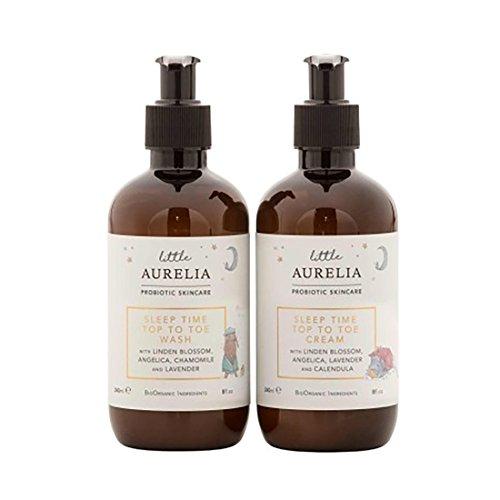 Aurelia Probiotic Skincare Sleep Time Top to Toe Wash and Cream Set