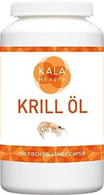 Kala Health - Rimfrost® Krill Oil 180 Licaps® Capsules Omega-3, Omega-7 and Omega-9 Fatty Acids.